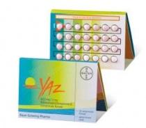 YAZ 0,02 mg/ 3mg X 24 COMPR. FILM. 0,02mg/3mg BAYER AG