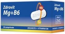 Zdrovit Magneziu + B6 50 comprimate