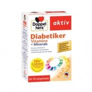 Doppelherz Aktiv Vitamine pentru diabetici 30 comprimate + 10 comprimate Cadou