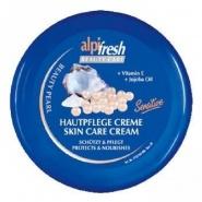 Alpifresh Crema pentru fata si corp cu Pantenol si vitamina A + E 250 ml