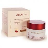 Aslavital Mineralactiv Crema ultraprotectoare SPF50 ten sensibil 50 ml