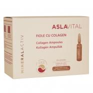 Aslavital  Mineralactiv Fiole cu colagen 10 fiole