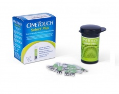 One Touch Select Plus Teste de glicemie 50 bucati