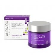Andalou 25140 BioActive 8 Berry Fruit Enzyme Mask 50 g