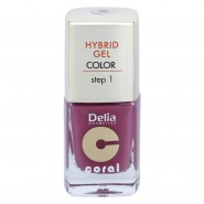 Delia Coral Hybrid Gel Color step 1 Lac unghii 05