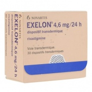 EXELON 4,6mg/24h x 30