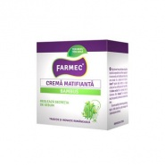 Farmec Crema matifianta cu Bambus  ten mixt/gras 50 ml