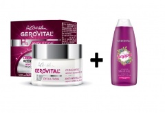 Gerovital Pachet Crema lift hidratanta de zi SPF10 50 ml + Gel de duș Full of Happy 250 ml