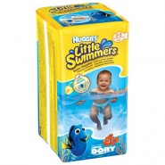 Huggies Little Swimmers Chilot impermeabil nr. 2-3 3-8 kg 12 bucati