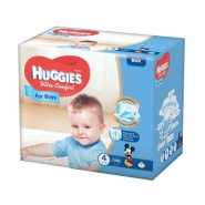 Huggies Ultra Comfort nr 4 (8 -14 kg) for boys 19 bucati