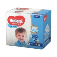 Huggies Ultra Comfort nr 5 (12 -22 kg) for boys 56 bucati
