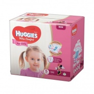Huggies Ultra Comfort nr 5 (12 -22 kg) for girls 15 bucati