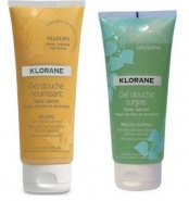 Klorane Pachet Velours Gel de dus 200 ml + Oxygen Gel de dus 200 ml