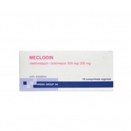 MECLODIN x 10 COMPR. VAG. 500mg/200mg ARENA GROUP S.A.