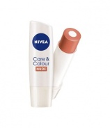Nivea 85280 Care & Colour Nude Balsam de buze 4,8 g