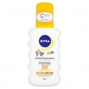 Nivea 85847 Sun Kids Protect & Sensitive Spray SPF50 200 ml