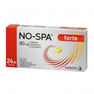 No Spa Forte 80 mg 24 comprimate