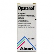 OPATANOL 1mg/ml X 1 PIC. OFT., SOL. 1mg/ml NOVARTIS EUROPHARM L - ALCON