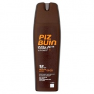 Piz Buin Ultra Light Spray hidratant protectie solara  SPF15 200 ml