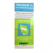 Seboderm Sampon antimatreata 2%  125 ml