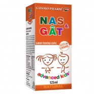 Sirop Nas & Gat -Advanced Kids 125 ml