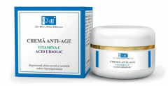 Tis Q4U Crema anti-age cu Vitamina C si Acid Ursolic 50 ml