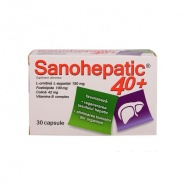 Sanohepatic 40+ 30 capsule